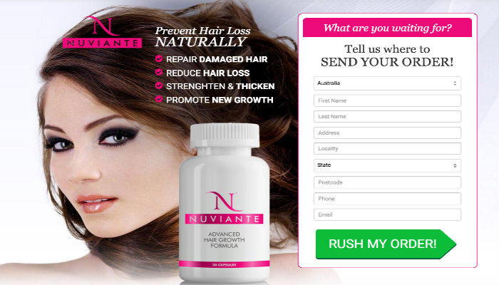 Hair Growth Products Nuviante Reviews - Hair Loss Treatment