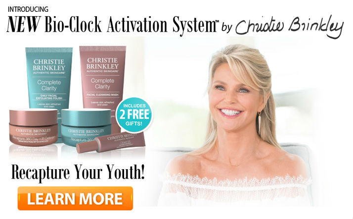 christy brinkley 2016 skin care
